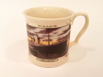 Nomadic and Titanic China Tankard